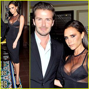 David & Victoria Beckham: CFDA & Vogue Fashion Fund Dinner!