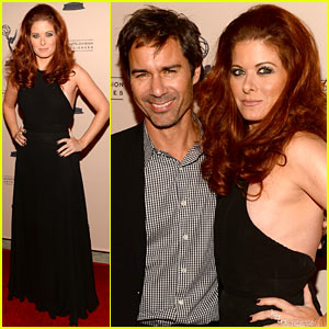 Debra Messing & Eric McCormack Reunite for James Burrows Evening!
