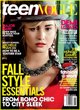 Demi Lovato Covers 'Teen Vogue' November 2013