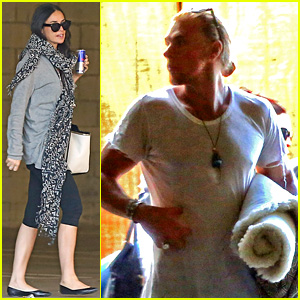Demi Moore Goes to Yoga with Rumored Beau Will Hanigan