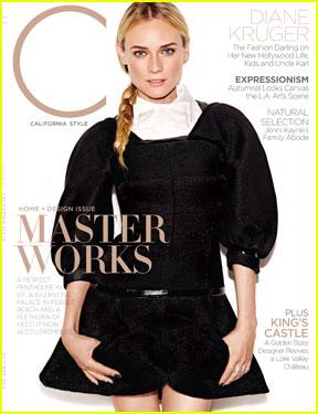 Diane Kruger Covers 'C' Magazine October 2013