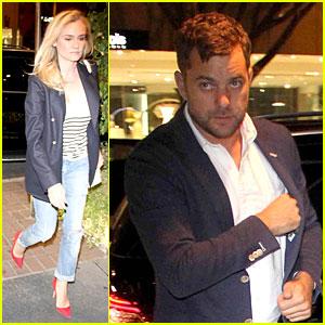 Diane Kruger & Joshua Jackson: Matching Blazers at Madeo!