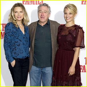 Dianna Agron & Michelle Pfeiffer: 'Family' London Photo Call!