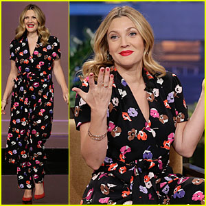 Drew Barrymore: Colorful 'Jay Leno' Appearance!
