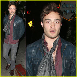 Ed Westwick Talks American Accent on 'Queen Latifah Show'!
