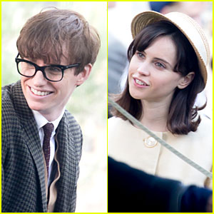 Eddie Redmayne & Felicity Jones: 'Theory of Everything' Set!