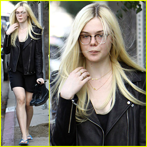 Elle Fanning: Dakota Still Remembers Taping 'Friends' Episode!
