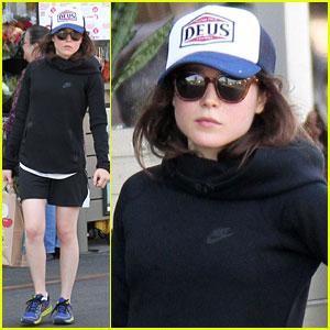Ellen Page Hits Up Whole Foods After Paris Trip