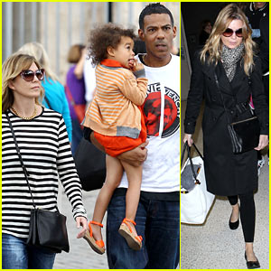 Ellen Pompeo & Chris Ivery: Rome Vacation with Stella!