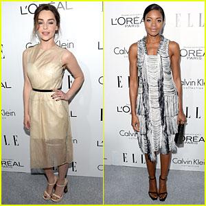 Emilia Clarke & Naomie Harris: 'Elle' Women in Hollywood Celebration!