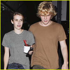 Emma Roberts & Evan Peters: Ice Cream Before 'World War Z'!