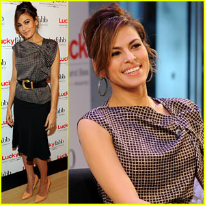 Eva Mendes: Lucky Magazine's FABB Conference