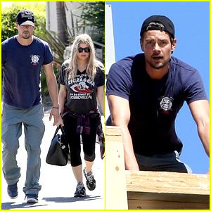 Fergie & Josh Duhamel Check Progress on Home Renovation