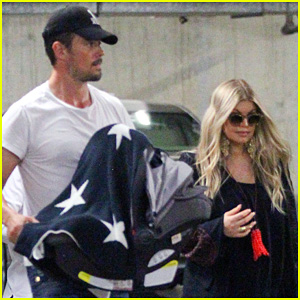 Fergie & Josh Duhamel: Doctor's Visit with Baby Axl!