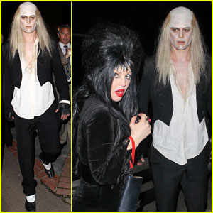 Fergie & Josh Duhamel: Kate Hudson's Halloween Party!