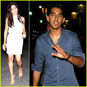 Freida Pinto Celebrates 29th Birthday with Dev Patel!