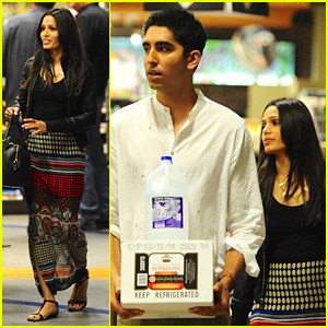 Freida Pinto & Dev Patel: Late Night Grocery Run!