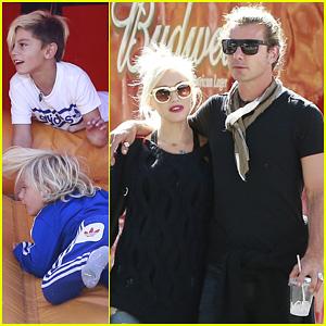 Gwen Stefani & Gavin Rossdale: Lake Arrowhead with the Kids!