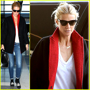 Gwyneth Paltrow Jets Out After 'Vanity Fair' Article News