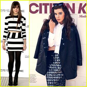 Hailee Steinfeld Covers 'Citizen K', Attends London Fan Event!