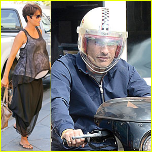 Halle Berry: Rivabella Ristorante Lunch After 'Extant' News