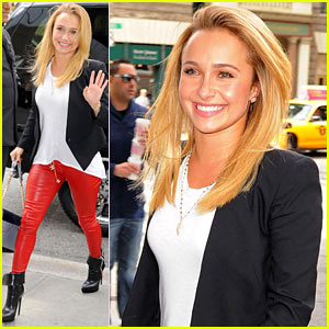 Hayden Panettiere Steps Out After Engagement News!