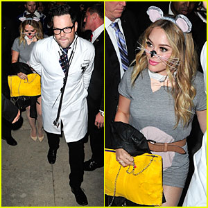 Hilary Duff & Mike Comrie: Casamigos Halloween Party 2013!