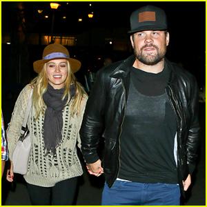 Hilary Duff & Mike Comrie: John Mayer Concert Couple!