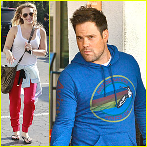 Hilary Duff & Mike Comrie: Separate Beverly Hills Outings!