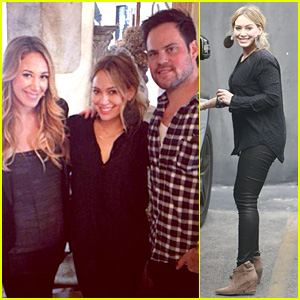 Hilary Duff Supports Sister Haylie at 'Real Girl's Kitchen' Signing