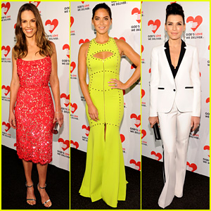 Hilary Swank & Olivia Munn: God's Love We Deliver Awards