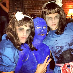 Holland Roden & Colton Haynes: Halloween Bash Buddies!