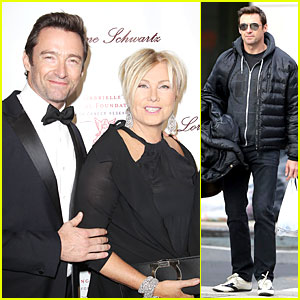 Hugh Jackman & Deborra-Lee Furness: Angel Ball Couple!