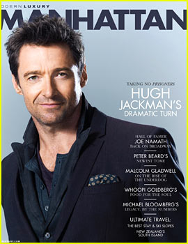 Hugh Jackman Covers 'Manhattan' October 2013