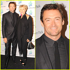 Hugh Jackman Hosts Friends of Hudson River Park Gala!