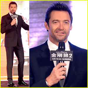 Hugh Jackman Premieres 'The Wolverine' in China!