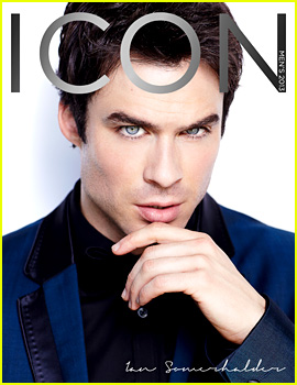 Ian Somerhalder Covers 'Icon' Magazine Men's Issue 2013