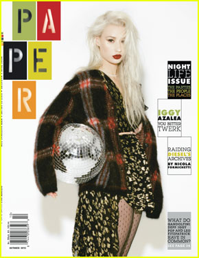 Iggy Azalea Covers 'Paper' Magazine Nightlife Issue