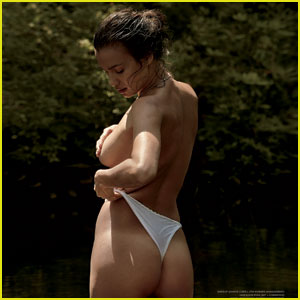 Irina Shayk: Topless for 'Vman' 10th Anniversary Issue!