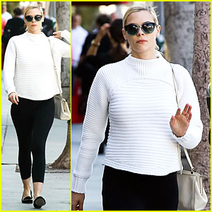 Jaime King Debuts Post-Baby Body in Beverly Hills!