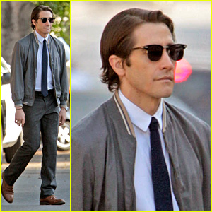 Jake Gyllenhaal Looks Slimmed Down for 'Nightcrawler' Shoot