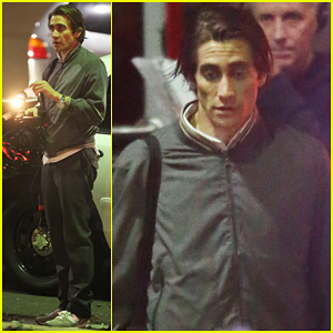 Jake Gyllenhaal: Overnight 'Nightcrawler' Shoot!