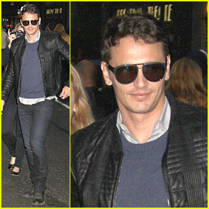 James Franco: Such a Fan of 'The Voice'!
