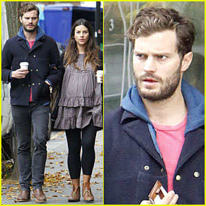 Jamie Dornan Steps Out After 'Fifty Shades of Grey' Casting!
