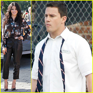 Channing Tatum Continues Filming '22 Jump Street'!