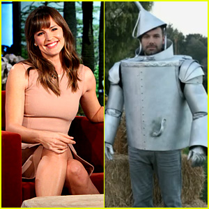 Jennifer Garner Shares Halloween Pic of Ben Affleck as Tin Man!