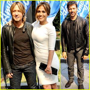Jennifer Lopez & Keith Urban: 'American Idol' Atlanta Auditions!