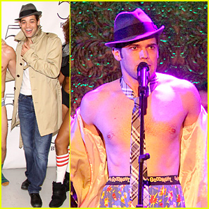 Jeremy Jordan: Shirtless & Singing in Underwear for 'Skivvies'!