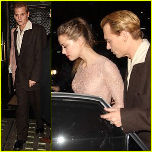 Johnny Depp & Amber Heard: London Date Night!