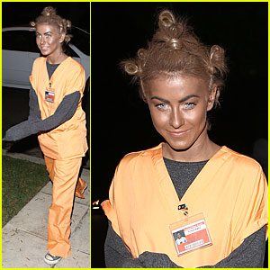 Julianne Hough: Crazy Eyes 'Orange is the New Black' Halloween Costume!